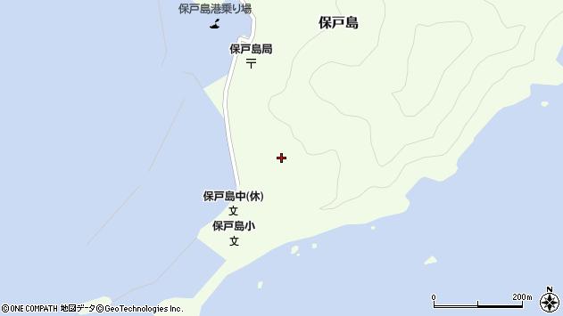 大分県津久見市保戸島115周辺の地図