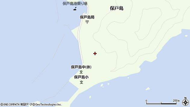 大分県津久見市保戸島114周辺の地図