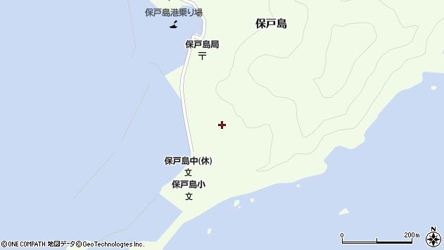 大分県津久見市保戸島116周辺の地図