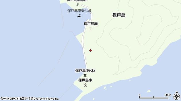 大分県津久見市保戸島101周辺の地図