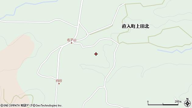 大分県竹田市直入町大字上田北1335周辺の地図
