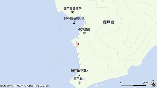 大分県津久見市保戸島1521周辺の地図