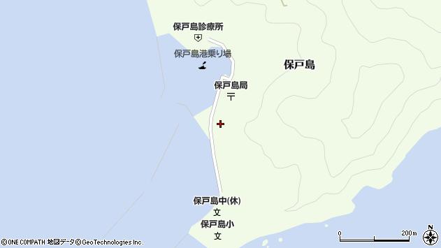 大分県津久見市保戸島1515周辺の地図