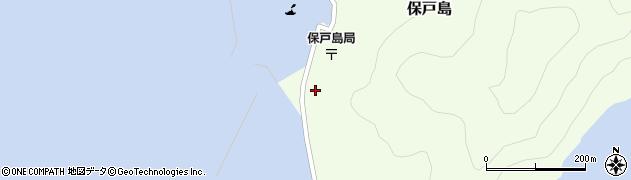 大分県津久見市保戸島1415周辺の地図