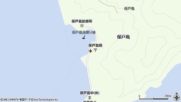 大分県津久見市保戸島1245周辺の地図
