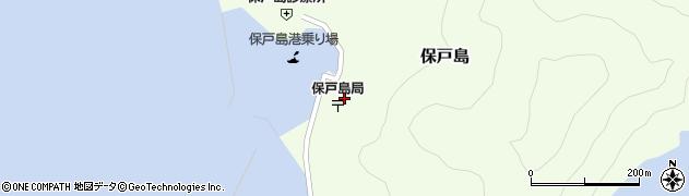 大分県津久見市保戸島1506周辺の地図