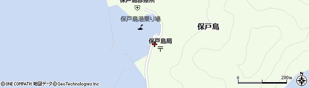 大分県津久見市保戸島1520周辺の地図