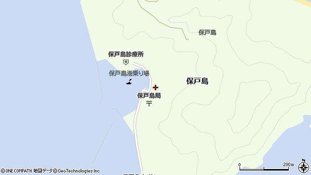 大分県津久見市保戸島1492周辺の地図