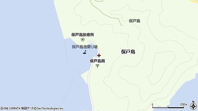 大分県津久見市保戸島1498周辺の地図