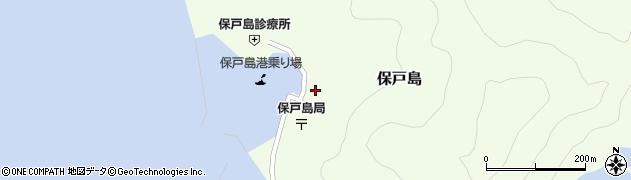 大分県津久見市保戸島1488周辺の地図