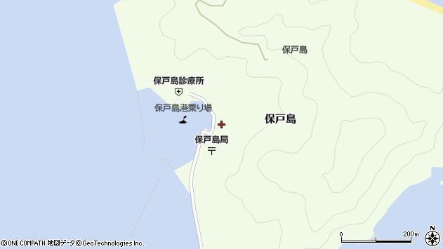 大分県津久見市保戸島1484周辺の地図