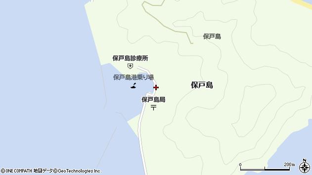 大分県津久見市保戸島1493周辺の地図