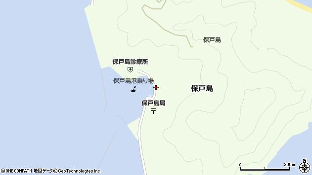 大分県津久見市保戸島1486周辺の地図