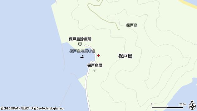 大分県津久見市保戸島1480周辺の地図
