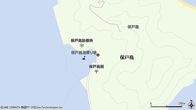 大分県津久見市保戸島1148周辺の地図
