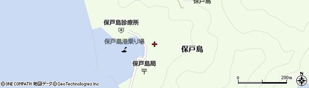 大分県津久見市保戸島1472周辺の地図
