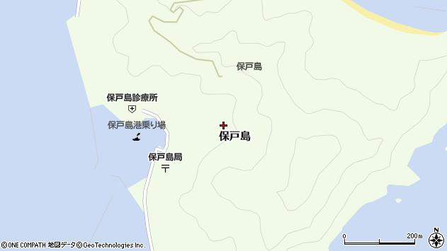 大分県津久見市保戸島1412周辺の地図