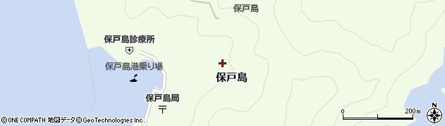 大分県津久見市保戸島1324周辺の地図