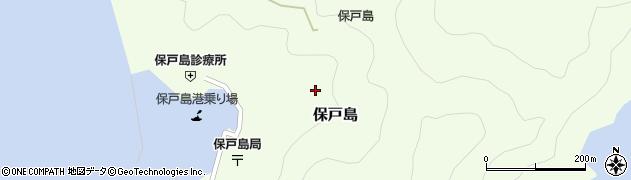 大分県津久見市保戸島1322周辺の地図