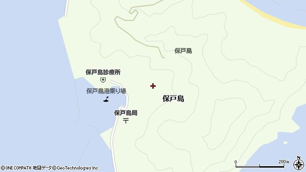 大分県津久見市保戸島1317周辺の地図