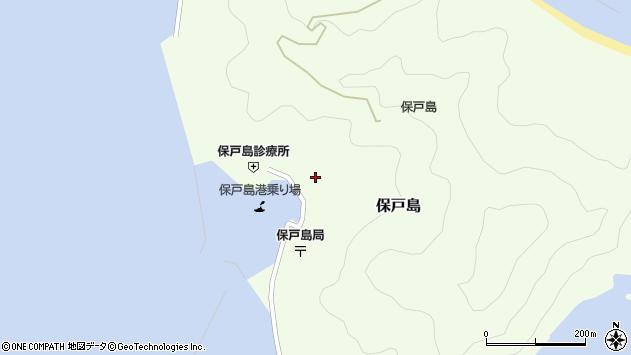 大分県津久見市保戸島1166周辺の地図