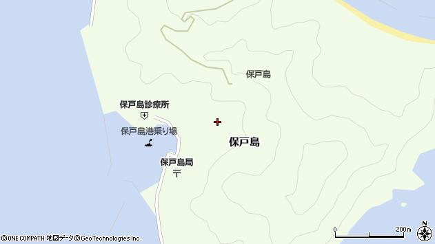 大分県津久見市保戸島1316周辺の地図