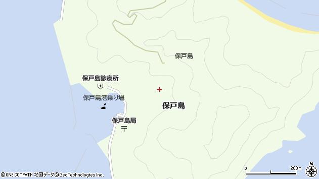 大分県津久見市保戸島1312周辺の地図