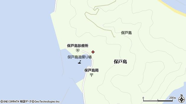 大分県津久見市保戸島1602周辺の地図