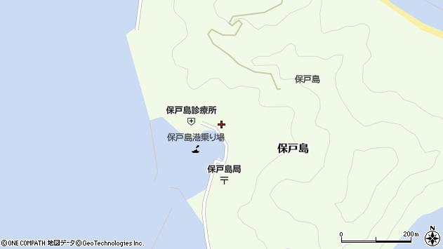 大分県津久見市保戸島1140周辺の地図