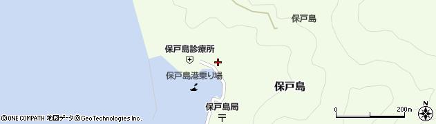 大分県津久見市保戸島1137周辺の地図