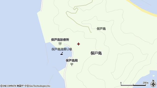 大分県津久見市保戸島1177周辺の地図