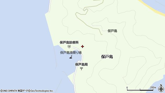 大分県津久見市保戸島1162周辺の地図
