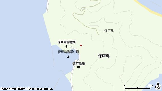 大分県津久見市保戸島1171周辺の地図