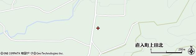 大分県竹田市直入町大字上田北3112周辺の地図