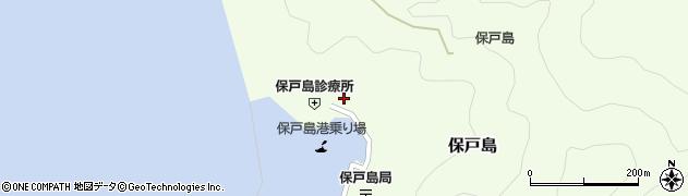 大分県津久見市保戸島1132周辺の地図