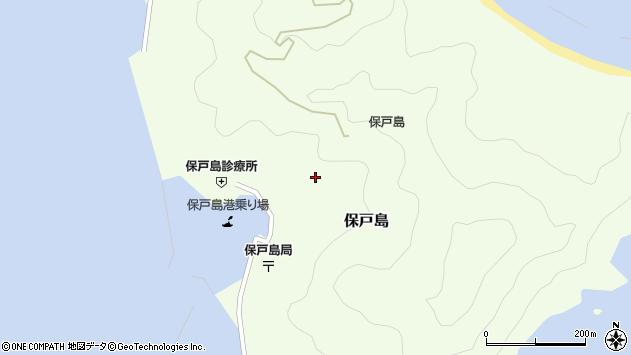 大分県津久見市保戸島1190周辺の地図