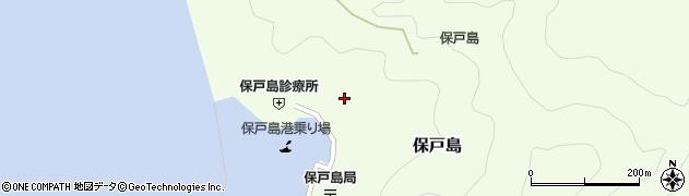 大分県津久見市保戸島1174周辺の地図