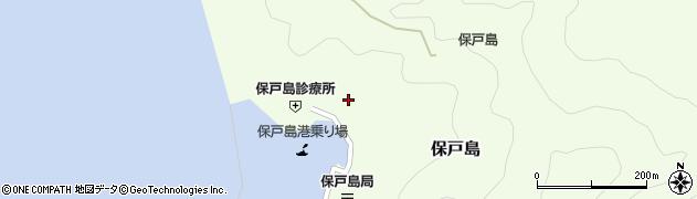 大分県津久見市保戸島1126周辺の地図