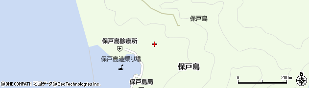 大分県津久見市保戸島183周辺の地図