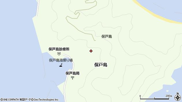 大分県津久見市保戸島1216周辺の地図