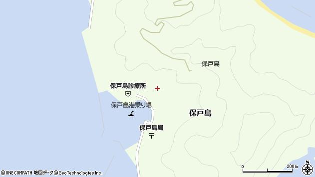大分県津久見市保戸島1115周辺の地図