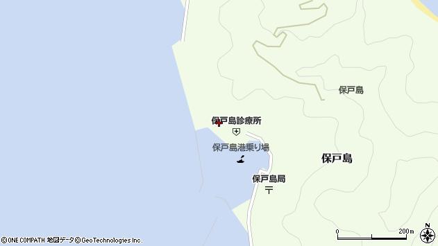 大分県津久見市保戸島876周辺の地図