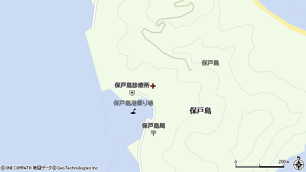 大分県津久見市保戸島1120周辺の地図
