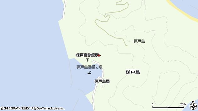 大分県津久見市保戸島1124周辺の地図