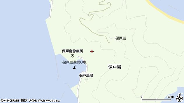 大分県津久見市保戸島1105周辺の地図