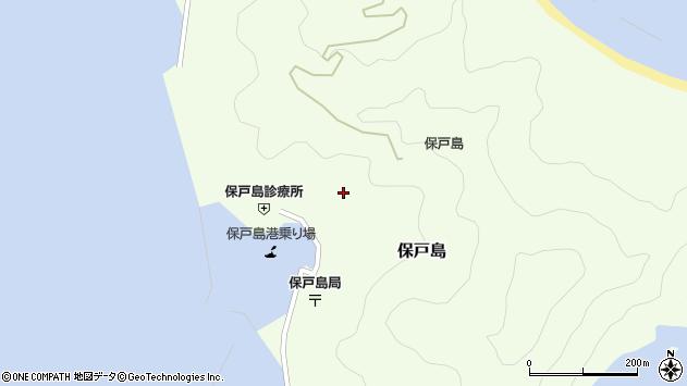大分県津久見市保戸島1101周辺の地図