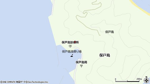 大分県津久見市保戸島889周辺の地図