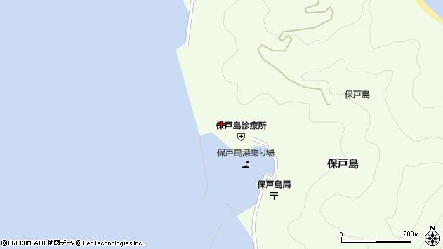 大分県津久見市保戸島872周辺の地図