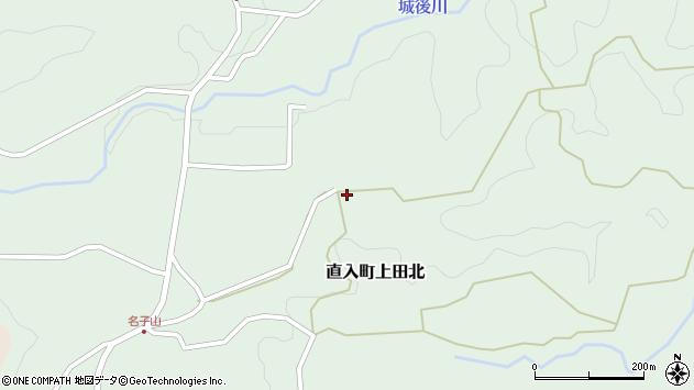 大分県竹田市直入町大字上田北2653周辺の地図