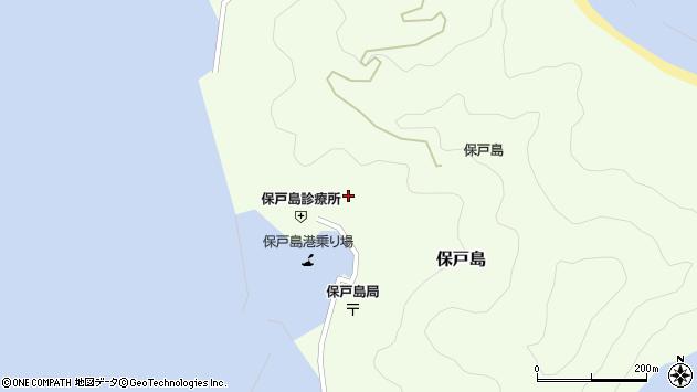 大分県津久見市保戸島1123周辺の地図